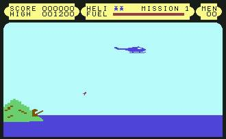Pantallazo de Blue Thunder para Commodore 64
