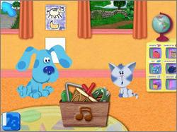 Pantallazo de Blue's Clues: Blue Takes You to School para PC