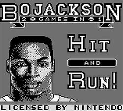 Pantallazo de Bo Jackson: Hit and Run! para Game Boy
