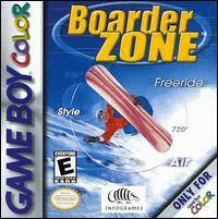 Caratula de Boarder Zone para Game Boy Color
