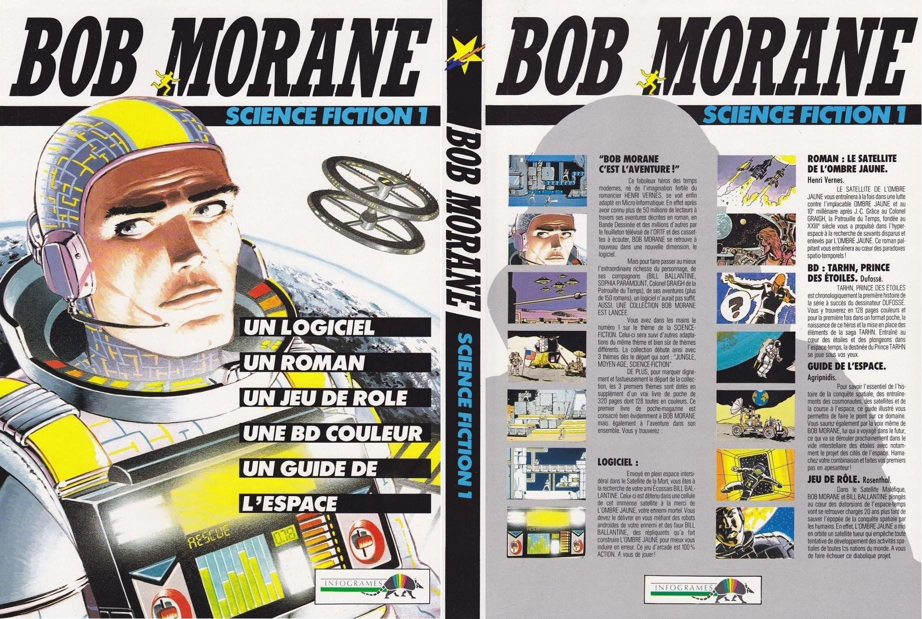 Caratula de Bob Morane: Science Fiction 1 para Atari ST