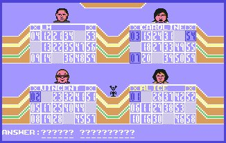 Pantallazo de Bob's Full House para Commodore 64
