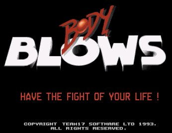 Pantallazo de Body Blows para Amiga