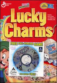 Caratula de Boggle CD-ROM: General Mills Cereal Promotion para PC