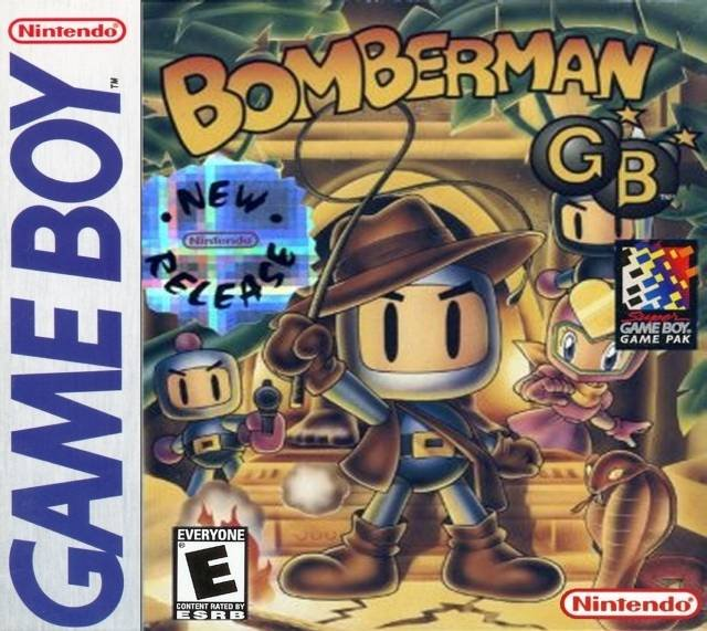 Caratula de Bomberman GB para Game Boy