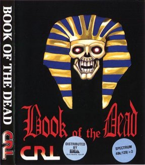 Caratula de Book of the Dead para Spectrum