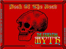 Pantallazo de Book of the Dead para Spectrum