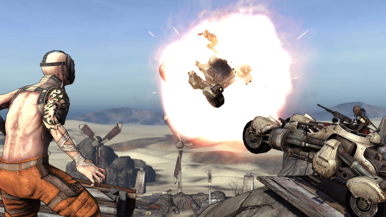 Pantallazo de Borderlands para PlayStation 3