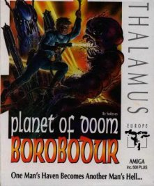 Caratula de Borobodur: The Planet Of Doom para Amiga