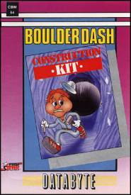 Caratula de Boulder Dash Construction Kit para Commodore 64