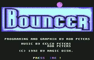 Pantallazo de Bouncer para Commodore 64