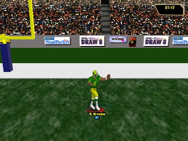 Pantallazo de Bradshaw Football 98 para PC