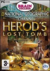 Caratula de Brain College: National Geographic presents Herods lost Tomb para PC