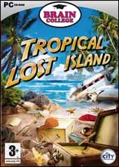 Caratula de Brain College: Tropical Lost Island para PC