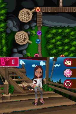 Pantallazo de Bratz: Girlz Really Rock para Nintendo DS