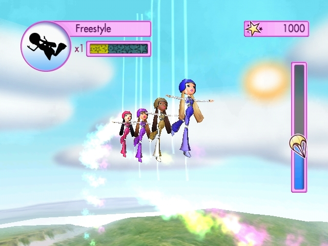 Pantallazo de Bratz: Girlz Really Rock para PlayStation 2