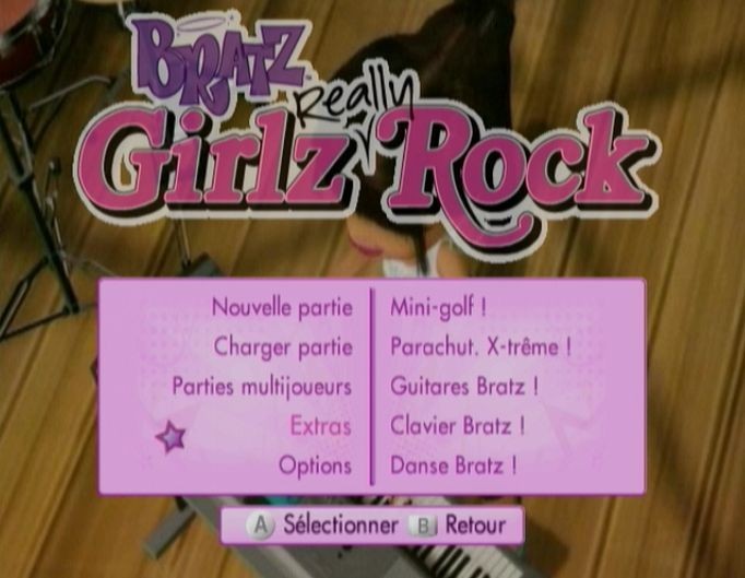 Pantallazo de Bratz: Girlz Really Rock para Wii