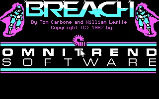 Pantallazo de Breach para PC