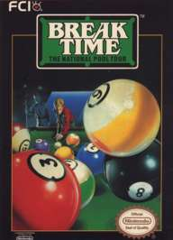Caratula de Break Time: The National Pool Tour para Nintendo (NES)