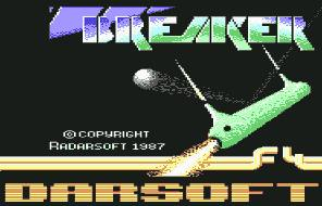 Pantallazo de Breaker para Commodore 64