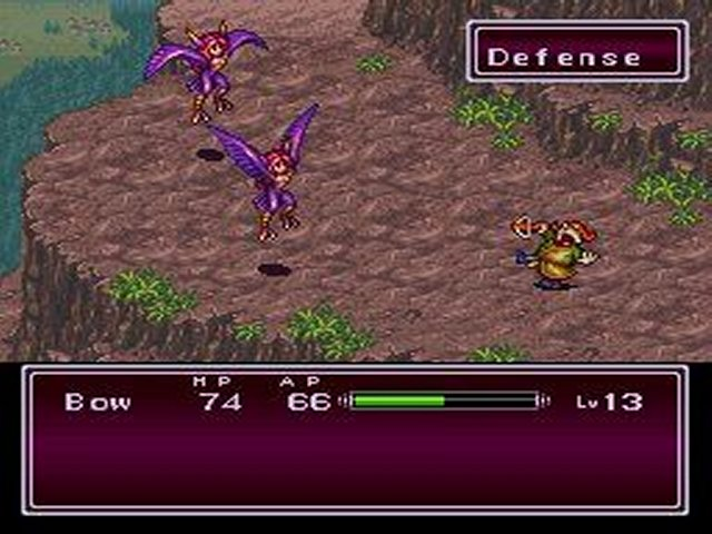 Pantallazo de Breath of Fire II (Europa) para Super Nintendo