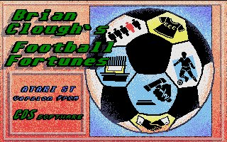 Pantallazo de Brian Clough's Football Fortunes para Atari ST