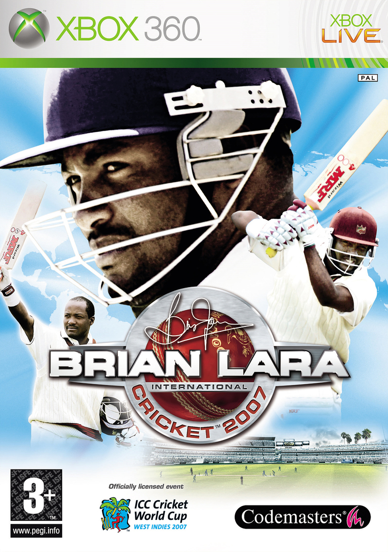 Caratula de Brian Lara International Cricket 2007 para Xbox 360