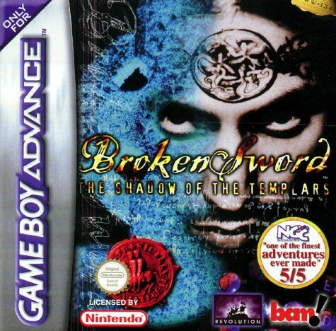 Caratula de Broken Sword: The Shadow of the Templars para Game Boy Advance