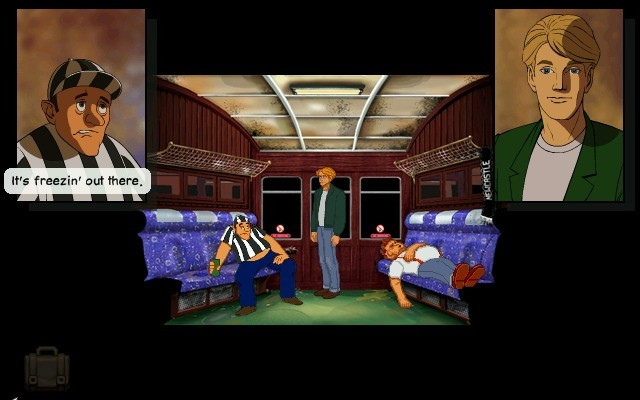 Pantallazo de Broken Sword The Shadow of The Templars Directors Cut para Wii