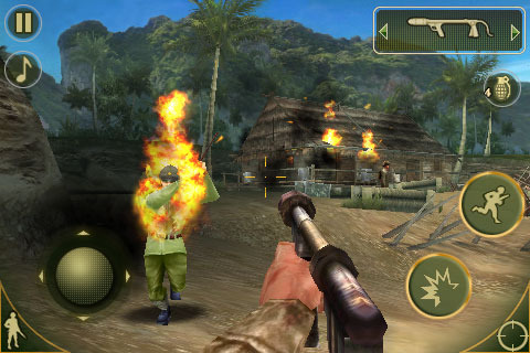 Pantallazo de Brothers In Arms 2: Global Front para Iphone