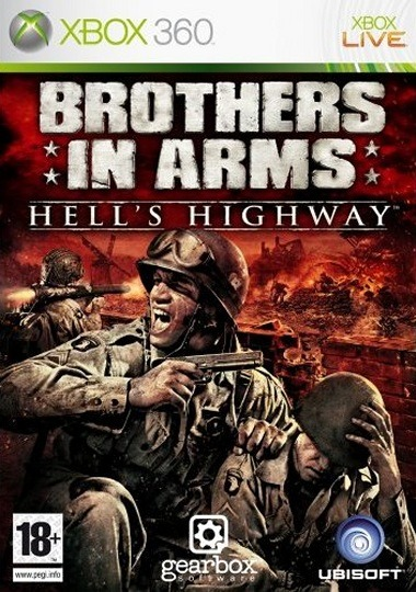 Caratula de Brothers in Arms: Hell's Highway para Xbox 360