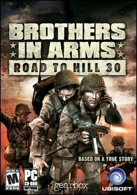 Caratula de Brothers in Arms: Road to Hill 30 para PC