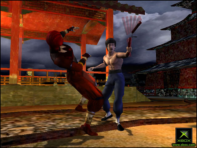 Pantallazo de Bruce Lee: Quest of the Dragon para Xbox