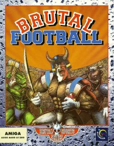 Caratula de Brutal Football: Brutal Sports Series para Amiga