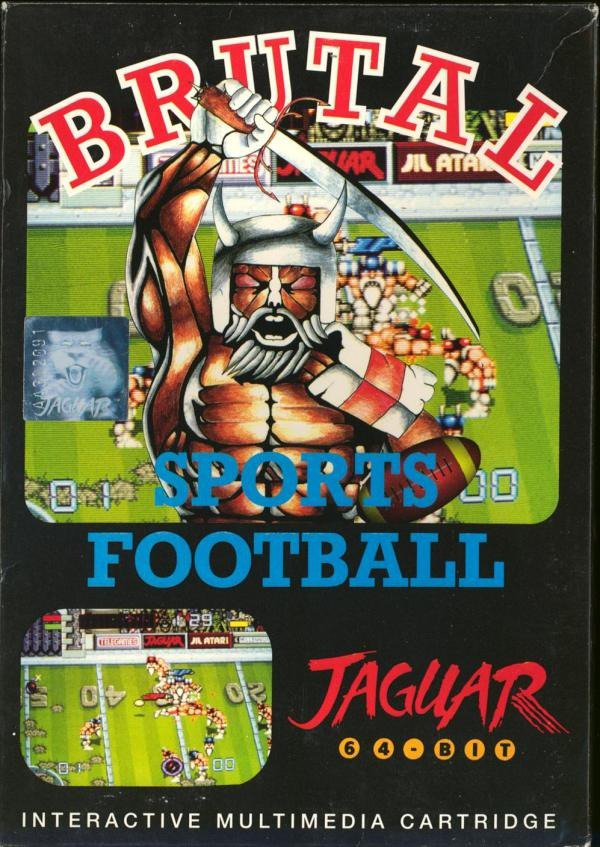 Caratula de Brutal Sports Football para Atari Jaguar