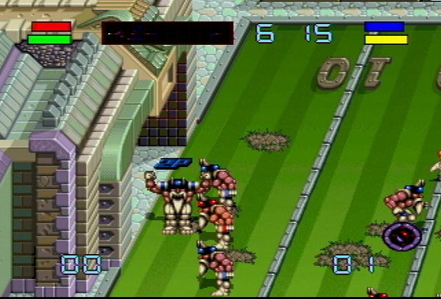Pantallazo de Brutal Sports Football para Atari Jaguar