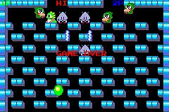 Pantallazo de Bubble Bobble: Old and New para Game Boy Advance