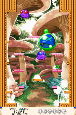 Pantallazo de Bubble Bobble Double Shot para Nintendo DS
