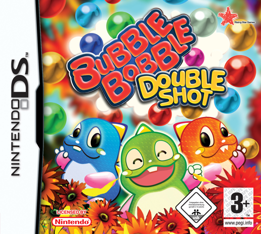 Caratula de Bubble Bobble Double Shot para Nintendo DS