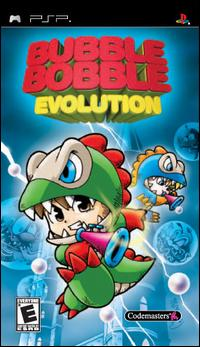 Caratula de Bubble Bobble Evolution para PSP