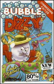 Caratula de Bubble Dizzy para Commodore 64