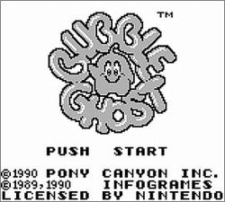 Pantallazo de Bubble Ghost para Game Boy