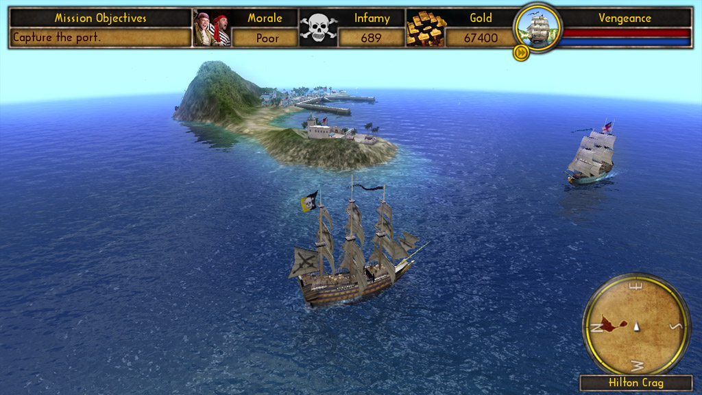 Pantallazo de Buccaneer: The Pursuit of Infamy para PC
