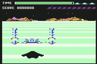 Pantallazo de Buck Rogers: Planet of Zoom para Commodore 64