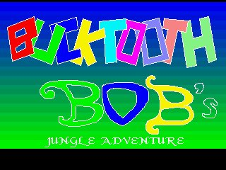 Pantallazo de Bucktooth Bob's Jungle Adventure para Amiga