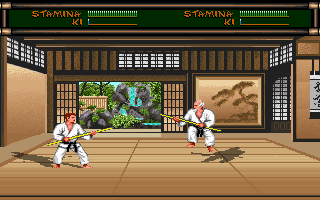 Pantallazo de Budokan: The Martial Spirit para PC