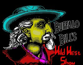 Pantallazo de Buffalo Bill's Wild West Show para Spectrum
