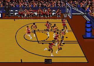 Pantallazo de Bulls vs. Lakers and the NBA Playoffs para Sega Megadrive