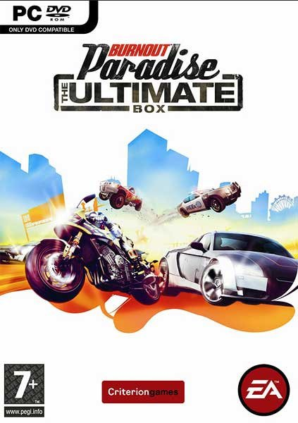 Caratula de Burnout Paradise: The Ultimate Box para PC