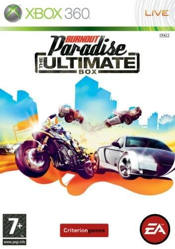 Caratula de Burnout Paradise: The Ultimate Box para Xbox 360